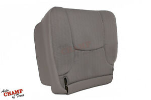 2003 2005 Dodge Ram 1500 2500 3500 Base Driver Side Bottom Cloth Seat Cover Tan