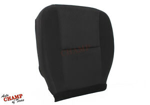 2011 2012 Chevy Avalanche Ls Lt Z71 driver Side Bottom Cloth Seat Cover Black