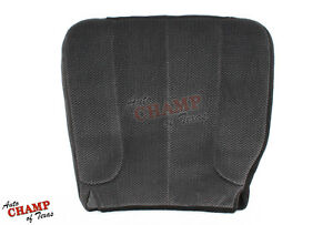 2004 Dodge Ram 1500 2500 3500 Slt Driver Side Bottom Cloth Seat Cover Gray