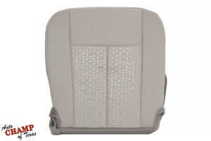 2008 2009 2010 Ford Expedition Xlt Xls Driver Side Bottom Cloth Seat Cover Gray