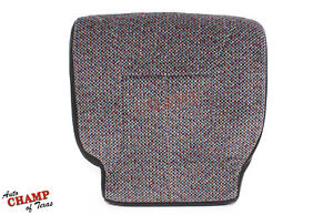 2001 Dodge Ram 1500 2500 3500 Slt driver Bottom Replacement Cloth Seat Cover