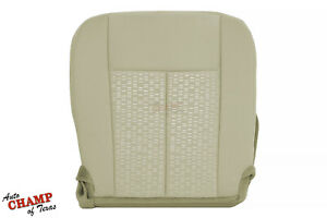 2015 2016 2017 Ford Expedition Xlt Sport Driver Side Bottom Cloth Seat Cover Tan