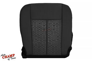 2007 2014 Ford Expedition Xlt Xls Driver Side Bottom Cloth Seat Cover Black