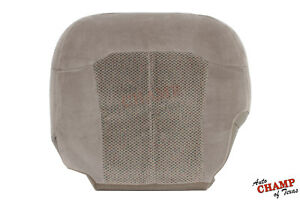 2000 2002 Chevy Tahoe Suburban Lt Ls driver Side Bottom Cloth Seat Cover Tan