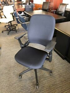 Executive Chair By Steelcase Leap V2 In Black Color fully Loaded 2012
