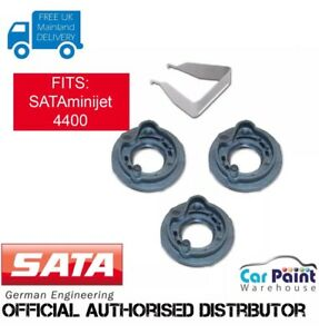 Sata Minijet 4400 B Spray Gun Replacement Air Distribution Rings 3pk 197467
