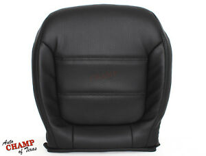 2011 2016 Vw Jetta Driver Side Bottom Replacement Leather Seat Cover Black