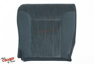 1994 1996 Dodge Ram Slt Off Road Sport Driver Side Bottom Cloth Seat Cover Blue