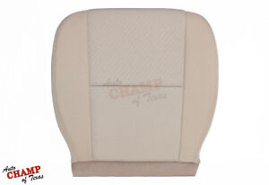 2012 2013 Gmc Sierra 1500 2500hd Sle Z71 Driver Side Bottom Cloth Seat Cover Tan