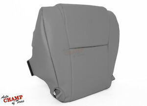 For 2007 2013 Toyota Tundra Driver Side Bottom Replacement Vinyl Seat Cover Gray
