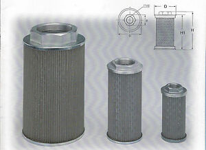 Hydraulic Suction Line Filters mf Type Mf 04a 1 2 Pt