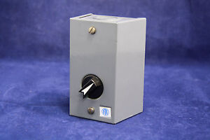 Siemens Ite H111a1 3 Position Selector Switch Rotary Pilot Light Station New