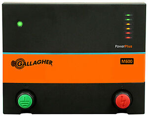 Gallagher North America G381504 Electric Fence Charger M600 6 Joules 110 volt