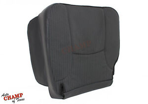 2003 2005 Dodge Ram 1500 2500 3500 Base driver Side Bottom Cloth Seat Cover Gray