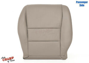 2003 2007 Honda Accord 4 Door Ex Se Lx Passenger Bottom Leather Seat Cover Tan