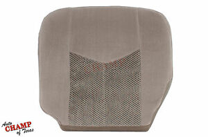 2003 2006 Chevy Tahoe Suburban Lt Ls driver Side Bottom Cloth Seat Cover Tan