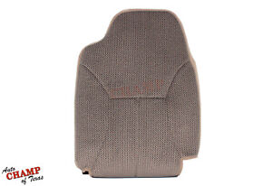 2000 2001 Dodge Ram 1500 Quad Cab Slt Driver Side Lean Back Cloth Seat Cover Tan
