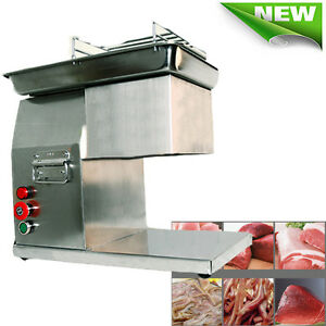 Commercial Meat Slicer Meat Cutting Machine Cutter Kitchen Equipment 260kg hour