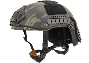 Lancer Tactical Maritime Helmet (Camo Blacklarge-Large) 31482