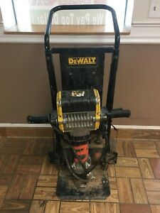 Dewalt 60 Lb D25980 Jack Hammer Commercial Demolition Breaker With Cart