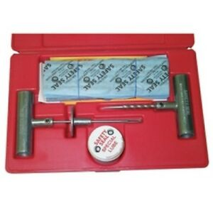 Truck Tire Repair Kit With 30 8 Inserts Insertion Tool Spiral Probe Lube