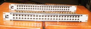 Adc pro Patch Patchbay 75 Ohm Ppi1224rs n Lot Of 2