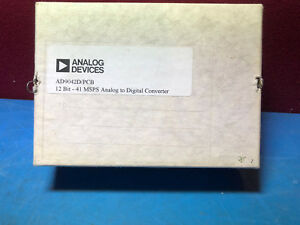 Ad9042ad pcb Analog Devices Evaluation Board 41msps 12 bit 28 pin Cdip Nos