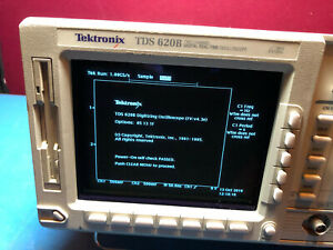 Tektronix Tds620b 2 Ch 500mhz 2 5gs s Digital Real time Oscilloscope Hdtv 05131f