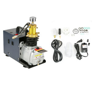High Pressure 40mpa Water Cooled Electric Air Compressor Pump For Diving Bottle