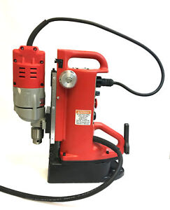 Milwaukee 4203 Adjustable Position Electromagnetic Drill Press 1 2 120v 13mm