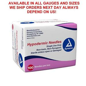 Dynarex Hypodermic Needles Box Of 100 18 G X 1 depend On Us