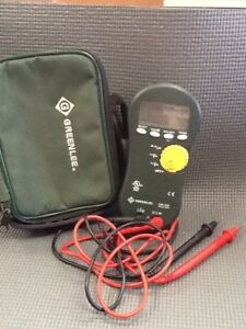 Dm 300 c Trms Digital Multimeter 1000 volt Rms Includes Certificate Of