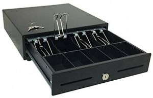 Hk Systems 13 Heavy Duty Black Push Open Cash Drawer 4b5c With Under Counter