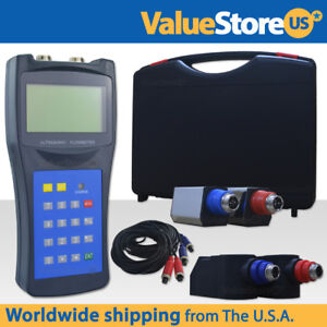 Ultrasonic Flow Meter With Transducers Portable Flowmeter Usf 100