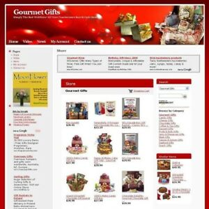 Established Gourmet Gifts Online Business Website For Sale Free Domain Name