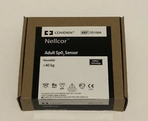 Nellcor Covidien Ds100a Adult Spo2 Sensor original W Packing same Day Shipping