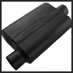 Flowmaster 40 Series Muffler 3 Inch Inlet And Outlet Oval Body 43041