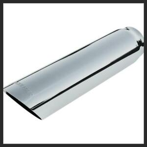 Flowmaster Polished Stainless Exhaust Tip 2 1 2 Inlet 3 Inch Out 15362