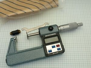 Digital Disk Micrometer 25 50mm Mitutoyo Series 323 102