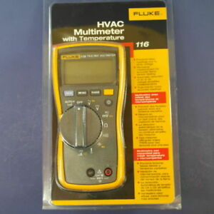 Fluke 116 Digital Multimeter new In Box Msrp 205