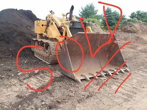 Case 1150 Crawler Track Loader Dozer 610 Org Hours