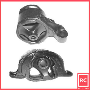 Front Front Left Motor Mount 2pcs Set For 1992 1993 Acura Integra 1 7l