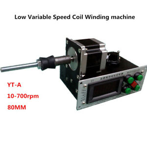 220v Digital Control Automatic Low Variable Speed Coil Winding Machine Yt a Y