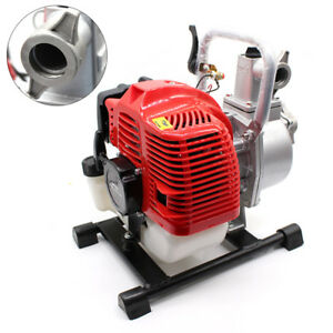 1 2 Stroke Petrol Water Transfer High Pressure Pump Irrigation Fire Fighting
