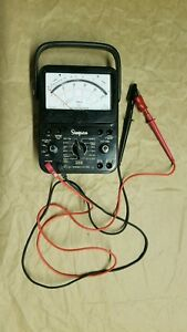 Simpson 260 Series 5 Vom Multimeter Working With Leads