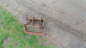 John Deere M Tractor Belly Plow Bracket Implement Carrier
