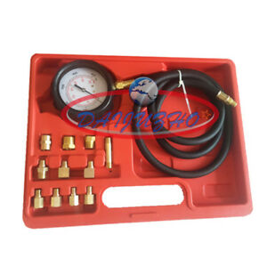Tu 11a Automatic Wave Box Transmission Engine Oil Pressure Tester Gauge 400psi