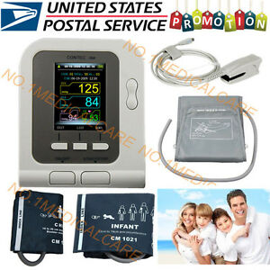 Usa Digital Blood Pressure Monitor electronic Sphygmomanometer nibp spo2 Probe