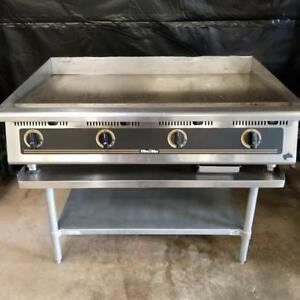 Star 848t Ultra Max 48 Gas Griddle W 1 Grill Plate