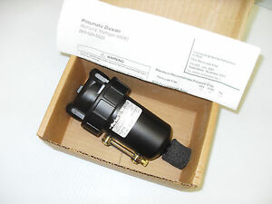 New In Box Parker watts F602 wjr m5 Auto Drain Filter 3 8 175psi